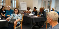 Community members provide input to DC Age Friendly Domains