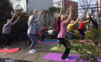 Capitol Hill Village yoga class at SE Public Library