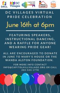 DC Villages Pride Flyer #1