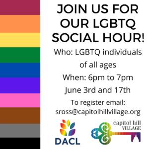 June LGBTQ Social Hours