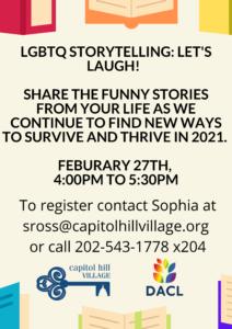 Storytelling Event, Option 2